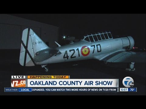 Oakland County air show 2