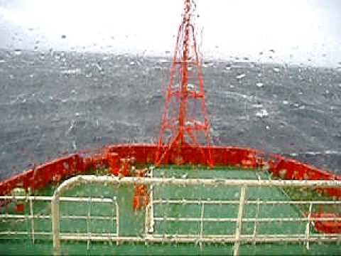 Anchor Handling Tug and Supply Vessel In Heavy Seas