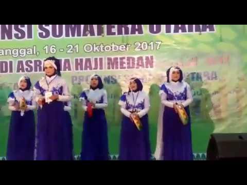Festival Nasyid SUMUT XV  Remaja Putri Labura