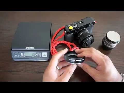 Metabones ContaxG to Fuji FX Adapter