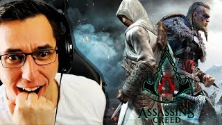 I watched EVERY Assassins Creed CINEMATIC! - From Altaïr to Valhalla