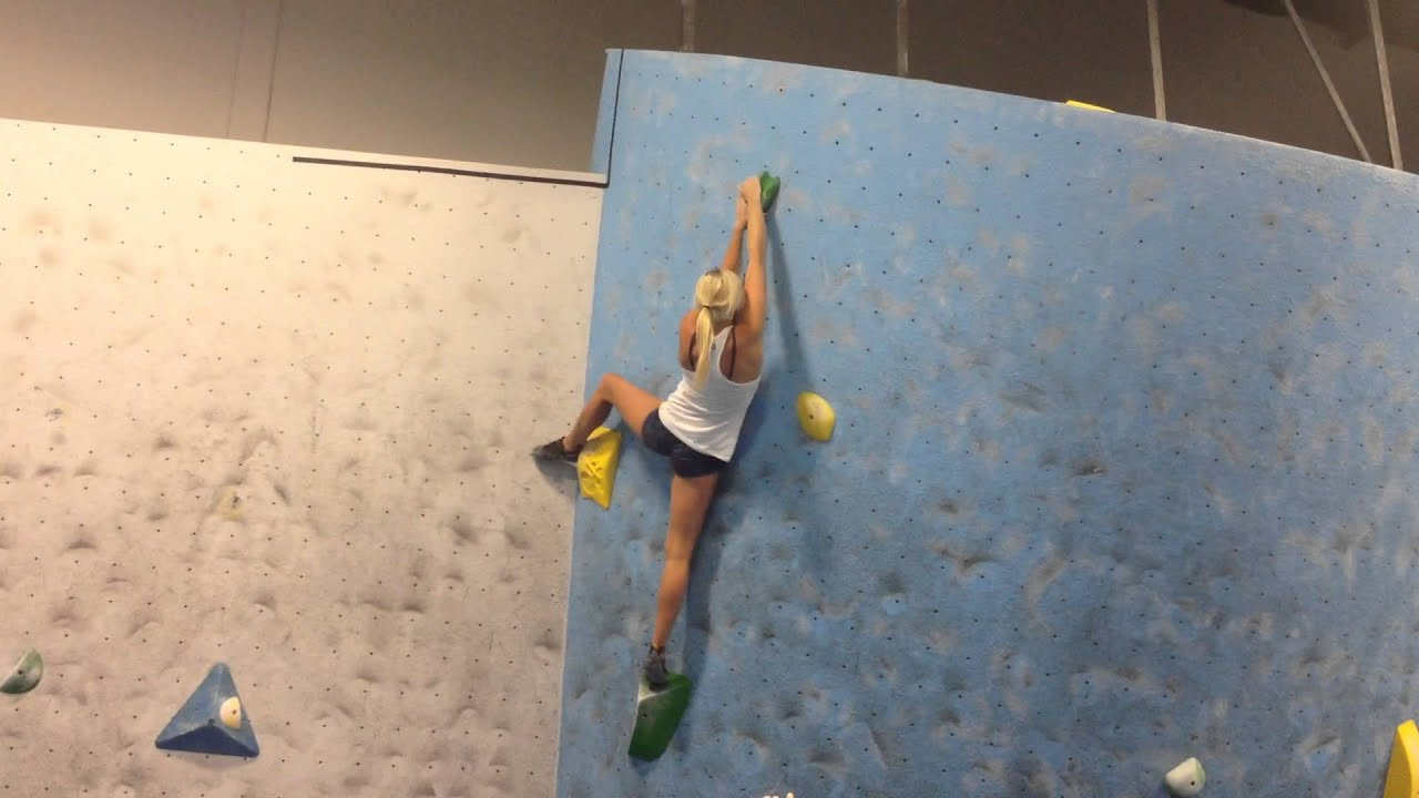 Sierra Blair-coyle Climbing Sierra Blair-coyle Sending
