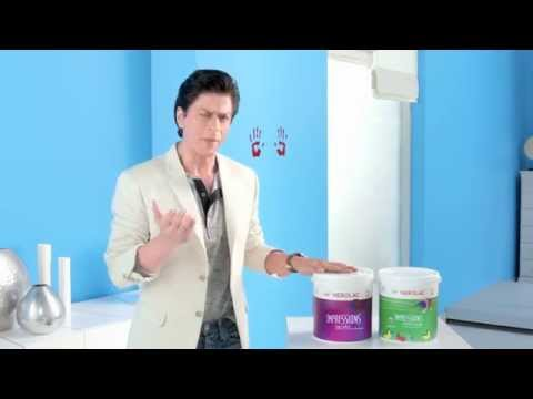 Nerolac Impressions HD - New TV AD (Sep 2015) with SRK