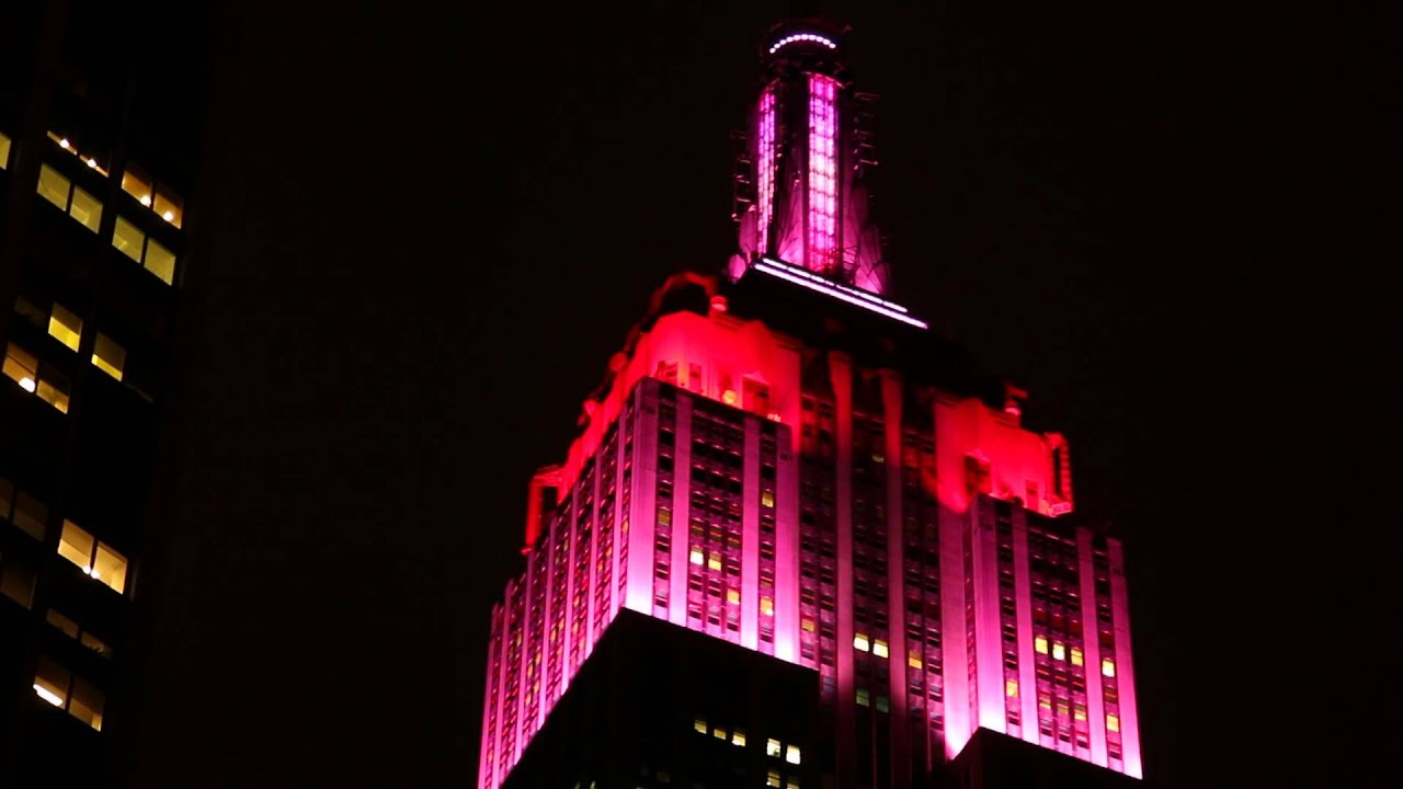 Empire State Building Sparkles with Love to Celebrate Valentine