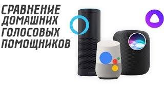 СРАВНЕНИЕ ДОМАШНИХ ГОЛОСОВЫХ ПОМОЩНИКОВ | Google Home assistant, Amazon Alexa, Алиса | MY GADGET