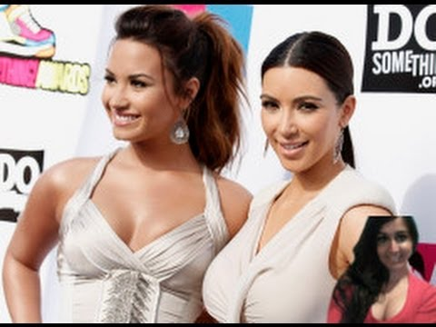 Demi Lovato 'Threat' Message To Kanye West You Better  Treat Kim Kardashian Good - review