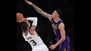 Lonzo Ball is LOCKING UP   2018 Defense Mix for Lakers PG