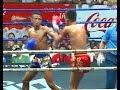 Muay Thai Fight -Petwason vs Morakot (เพชรวสรณ์ vs มรกต),Rajadamnern Stadium Bangkok - 18.2.16