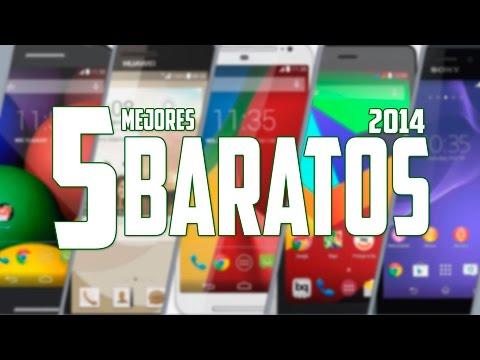 Los 5 mejores Androids baratos del 2014