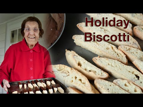 Holiday Cooking with Clara - Holiday Biscotti - 2010