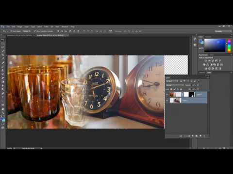 How to use the Gradient tool in Photoshop to...