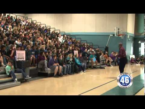 01/10/2014 Rosemary Clarke Middle School Anti-Bullying Assembly