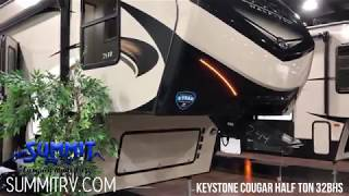 Keystone Cougar Half-Ton 32BHS Fifth Wheel at Summit RV in Ashland, KY