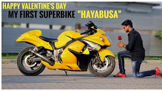 My First Superbike | Surprise revealed | SUZUKI HAYABUSA 😍
