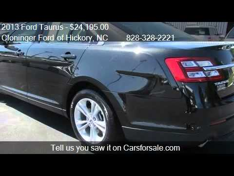 2013 Ford Taurus SEL - for sale in Hickory, NC 28602