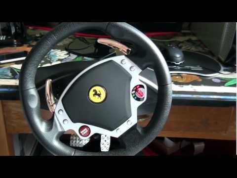 thrustmaster ferrari f430 racing wheel review how to. Black Bedroom Furniture Sets. Home Design Ideas