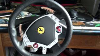 Thrustmaster Ferrari F430 Racing Wheel Review [HD]