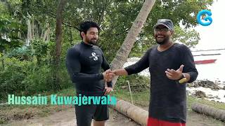 Hussain Kuwajerwala  Sharing his Dive Expirence with Gypsy Divers