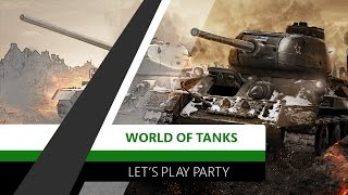 World of Tanks  | Let´s play | Xbox One | CZ