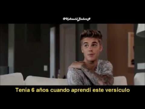 Believe Movie - Justin Bieber talking about his tattoos | sub español