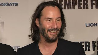 Matrix 4: Keanu Reeves Reveals His First Impression of the Script! (Exclusive)