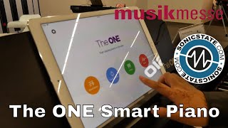 MESSE 2018: The ONE Smart Piano - A Piano That Teaches