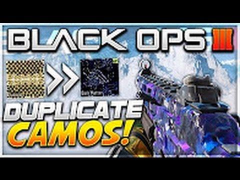 Black Ops 3 INSANE Camo Glitch *TUTORIAL* - ANY Black Market/GOLD & Diamond CAMO! (BO3 Multiplayer)