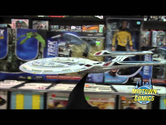 Star Trek Nemesis Enterprise E Ship Unboxing