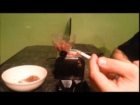 Maszynka elektryczna tłokowa do papierosów
