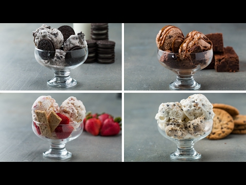 Homemade Ice Cream 4 Ways