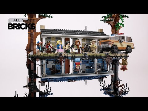Lego Stranger Things 75810 The Upside Down Speed Build