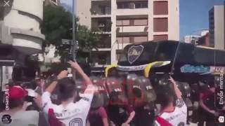 [Real Footages] Exact moment of Boca Junior's bus attack before Copa Libertadores final