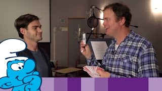 The Lost Village – Rainn Wilson Getting into Character • السنافر