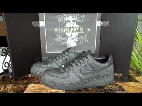 *CONTEST GIVEAWAY* NIKE AIR FORCE 1 XXX BLACK DENIM *SECRET SNEAKER SOCIETY*