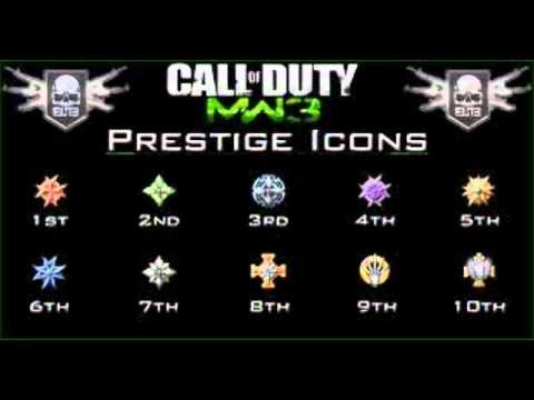 MW3 Presitige Titles