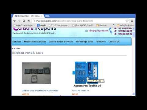 Xecuter CR3 Lite   X360 S Trinity   Required Tools    Purchase Links from GC REPAIRS COM   Part2of9