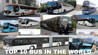 TOP 10 BUS IN THE WORLD