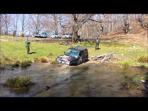 Daihatsu Feroza : trecere balta off-road