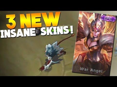 NEW Epic Freya Skin + New Zhask, Helcurt Skin Gameplay Mobile Legends