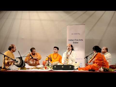 Kadri Gopalnath in Dubai ;  Brahmam Okate-Annamayya Song