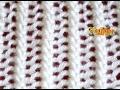 Como Tejer Encaje Tejido-Lace Stitch  2 Agujas (18)