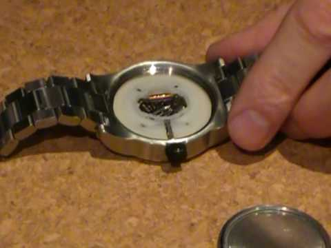 How to change a screw back watch battery youtube for Watches battery