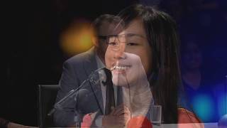 13-year-old Shaniah Llane Rollo wows the judges with her Angelic Rendition of 'True Colors'