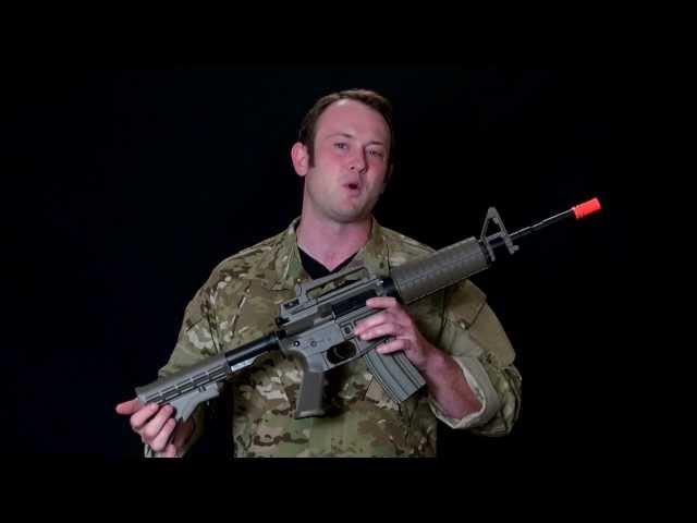 """Airsoft GI - Lancer Tactical M4 """"Real World"""" External Stress Test"""