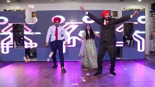 Best Bhangra performance by family kids at wedding