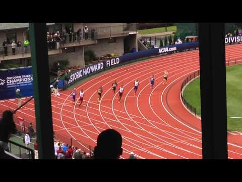 LSU junior Vernon Norwood (Lane 3) scored 6 big points for the Tigers with his bronze-medal-winning performance in the men's 400-meter final at the 2014 NCAA Division I Outdoor Track & Field...
