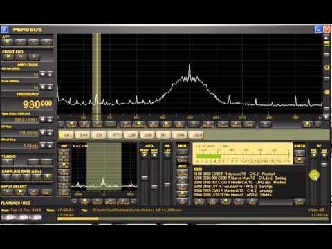 AM 930 Radio Nuevo mundo, Santiago Chile  Recepcion Diurna
