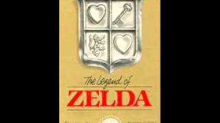 the legend of zelda (NES) music : game over theme