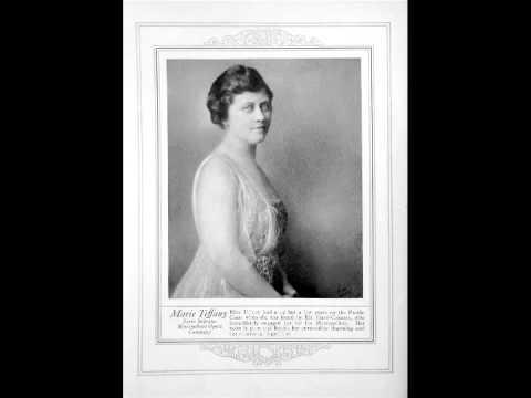 American Soprano Marie Tiffany ~ Psyche (1920)