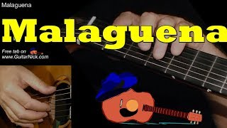 MALAGUENA: 14 Guitar Lessons + TAB by GuitarNick